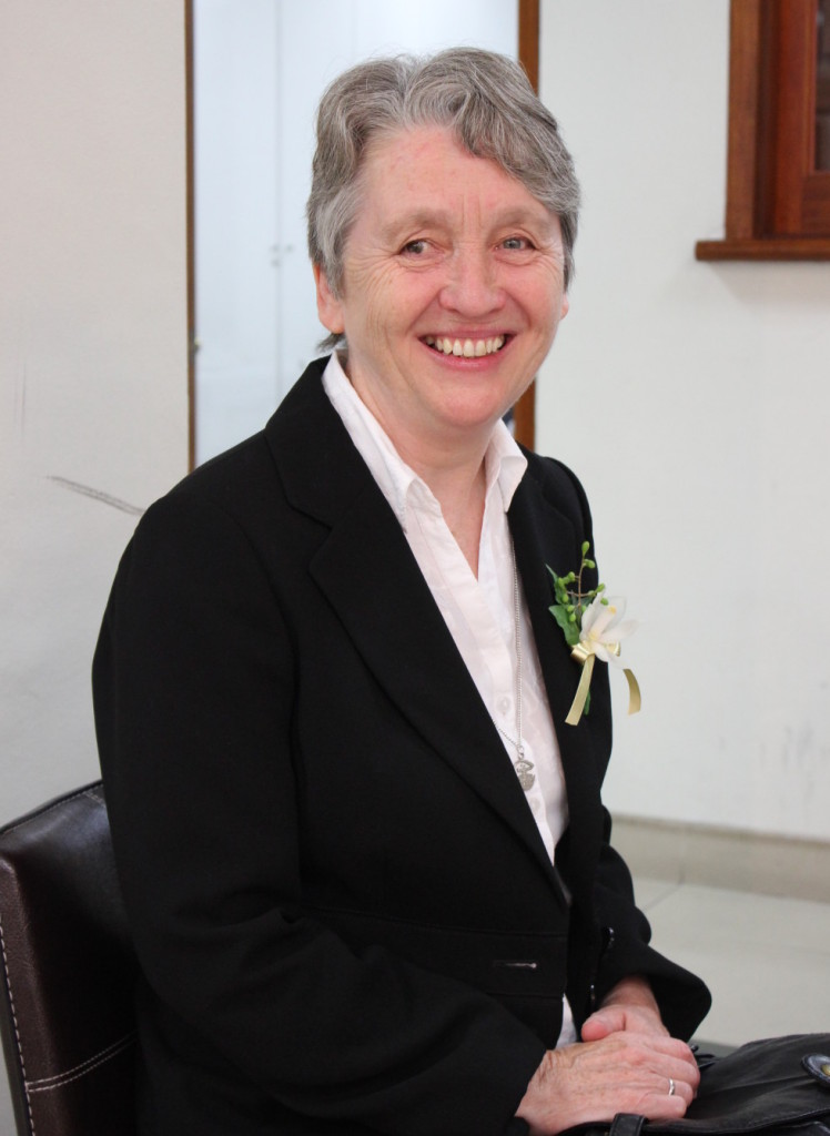 Sr Ann Gray Congregational Leader