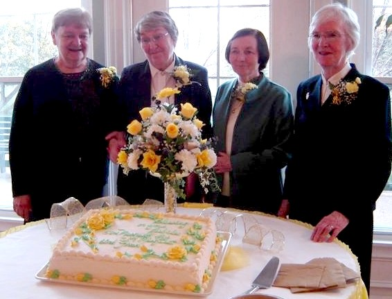 Sisters Patricia Zandrew (Golden), Francesca Garvey (Diamond), Margaret Devlin (Golden) and Margaret Devine (Golden).