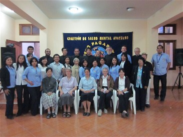 COSMO Staff, Columban Sisters and Brothers of Charity with family of patients
