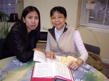 Columban Sister Lucia So Yim Mei from Hong Kong,