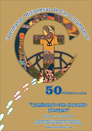 """50th Anniversary Posters by Sister Erisa Lee """"Journeying with the People of Peru"""""""