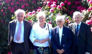 Sister Kathleen with her brothers Seamus and Denis and sister, Anna