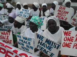 Picture5 Liberian Women protest for Peace 2003