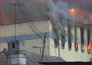 overcrowded prison fire_chile2010
