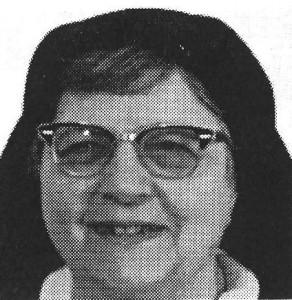 +Sr Mary Basil McBrearty