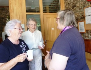 M Lyden, M Dillon, Catherine Lillis at Event 10 July  14